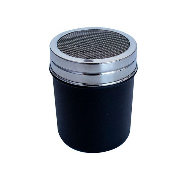 Chocolate or Cinnamon Shaker Black