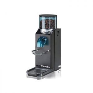 Rancilio Rocky Doserless Coffee Grinder in Black